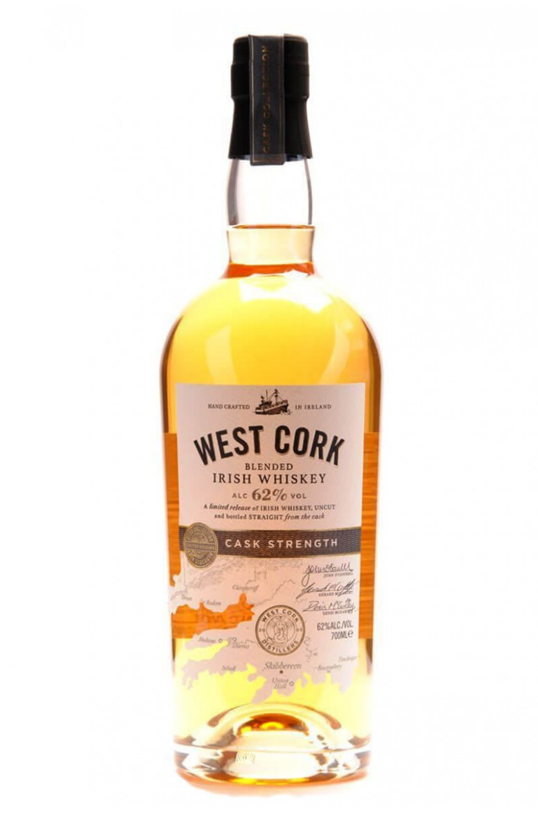 West Cork Cask Strength Blended Irish Whiskey