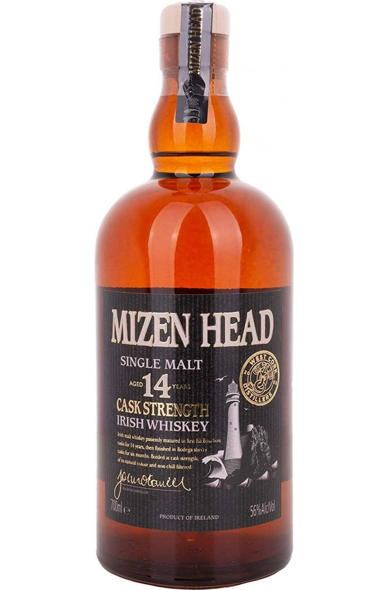 Mizen Head 14 Year Old Cask Strength