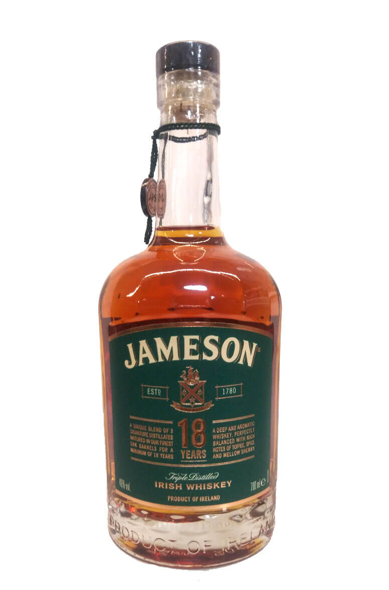 Jameson 18 Year Old 40% New Label