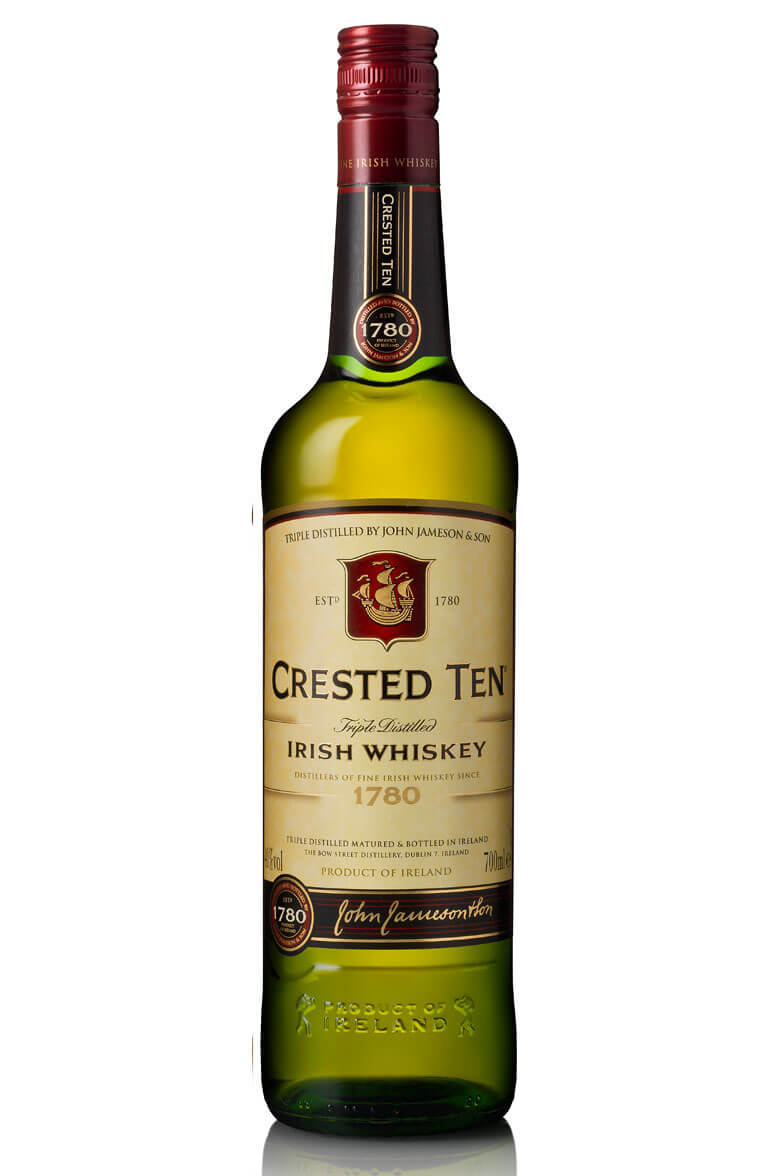 Jameson Crested Ten Old Label
