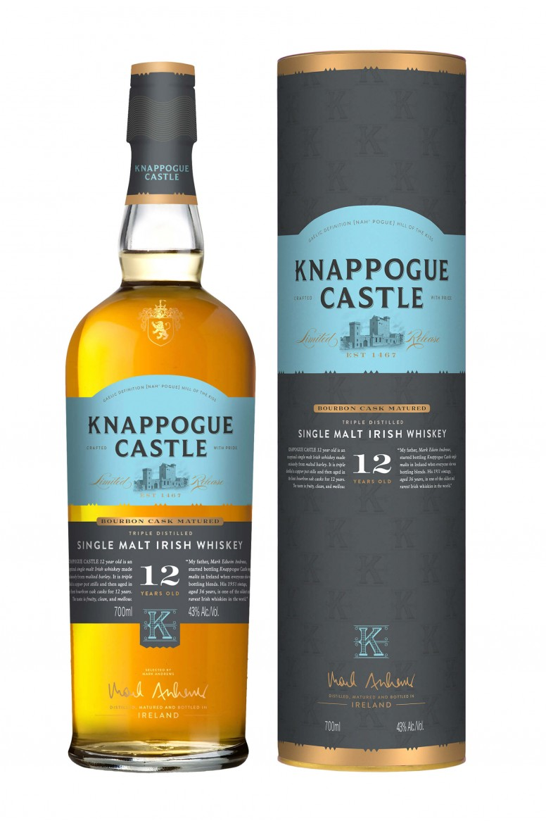 Knappogue Castle 12 Year Old 43%