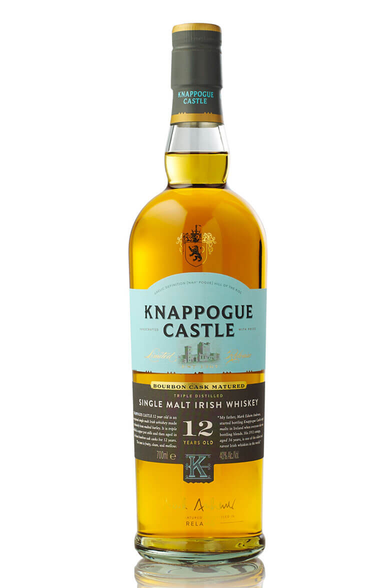 Knappogue Castle 12 Year Old Single Malt Whiskey