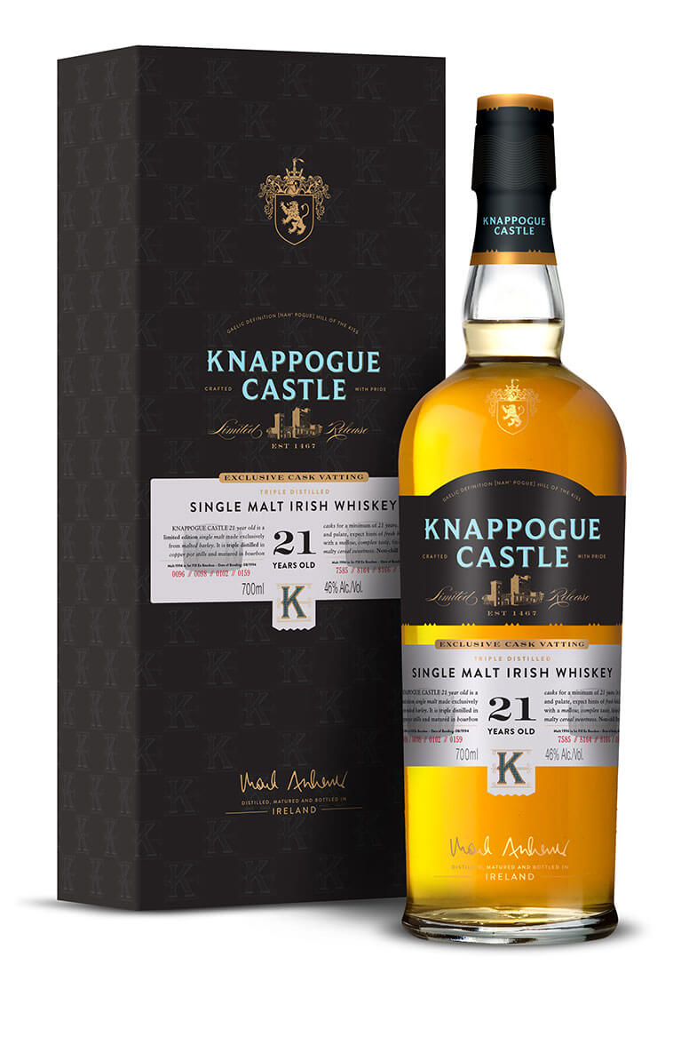 Knappogue Castle 21 Year Old Single Malt