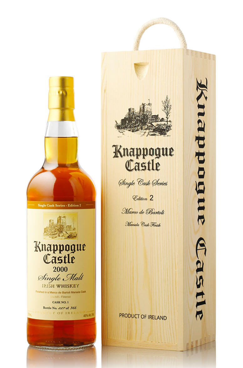 Knappogue Castle 2000 Single Malt Burgundy Cask Finish Edition 2