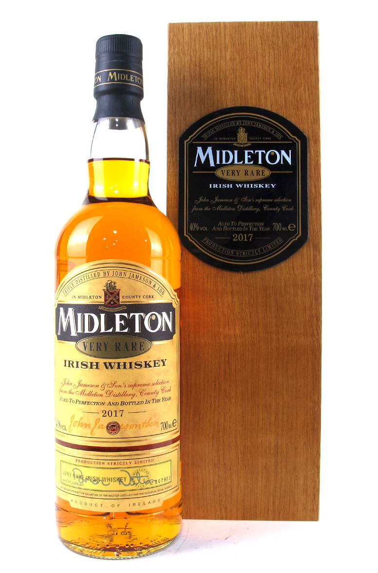 Midleton Very Rare 2017 Old Style Packaging