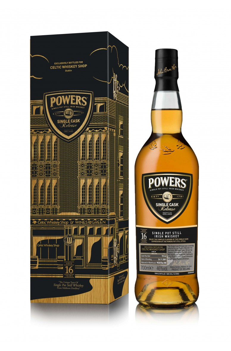 Powers 16 Year Old Single Cask 70015 CWS Bottling