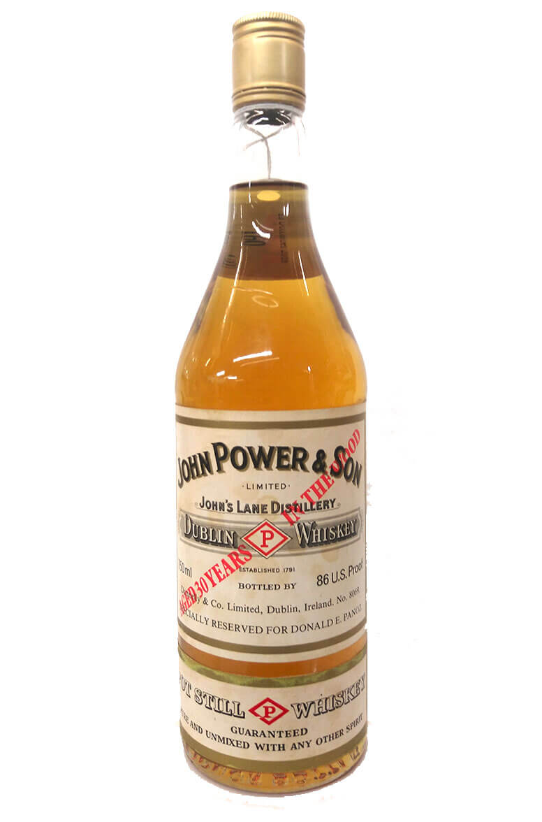 Powers 30 Year Old Pot Still Whiskey