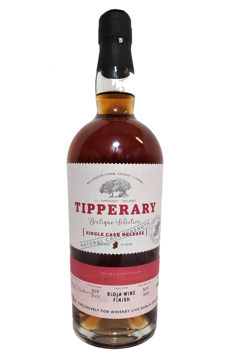Tipperary Rioja Finish Whiskey Live Dublin 2018 Exclusive