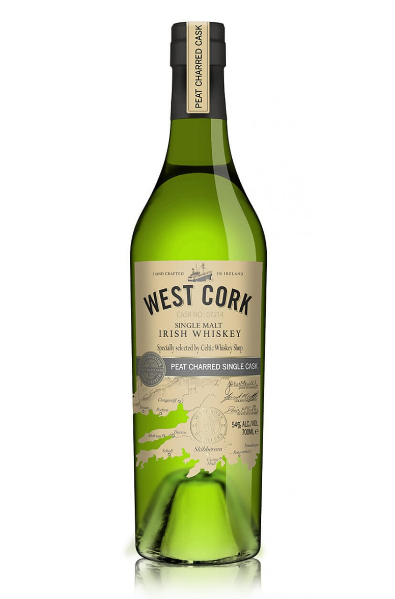 West Cork Glengarriff CWS Peat Charred Single Cask