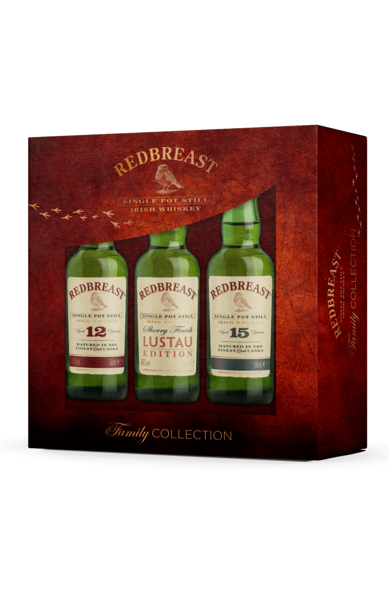 Redbreast Family Collection (3 X 5cl)