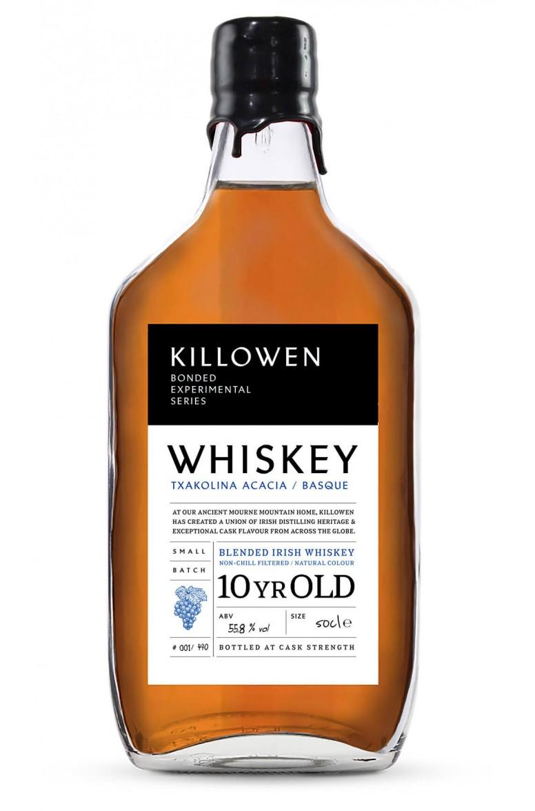 Killowen Small Batch Experimental Bond Series Whiskey - Txacolina Acacia Cask