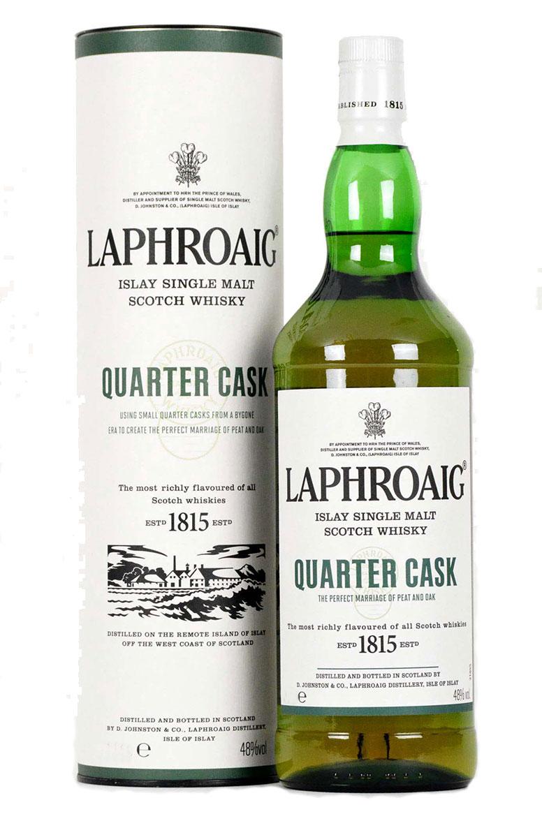 Laphroaig Quarter Cask Litre Bottle