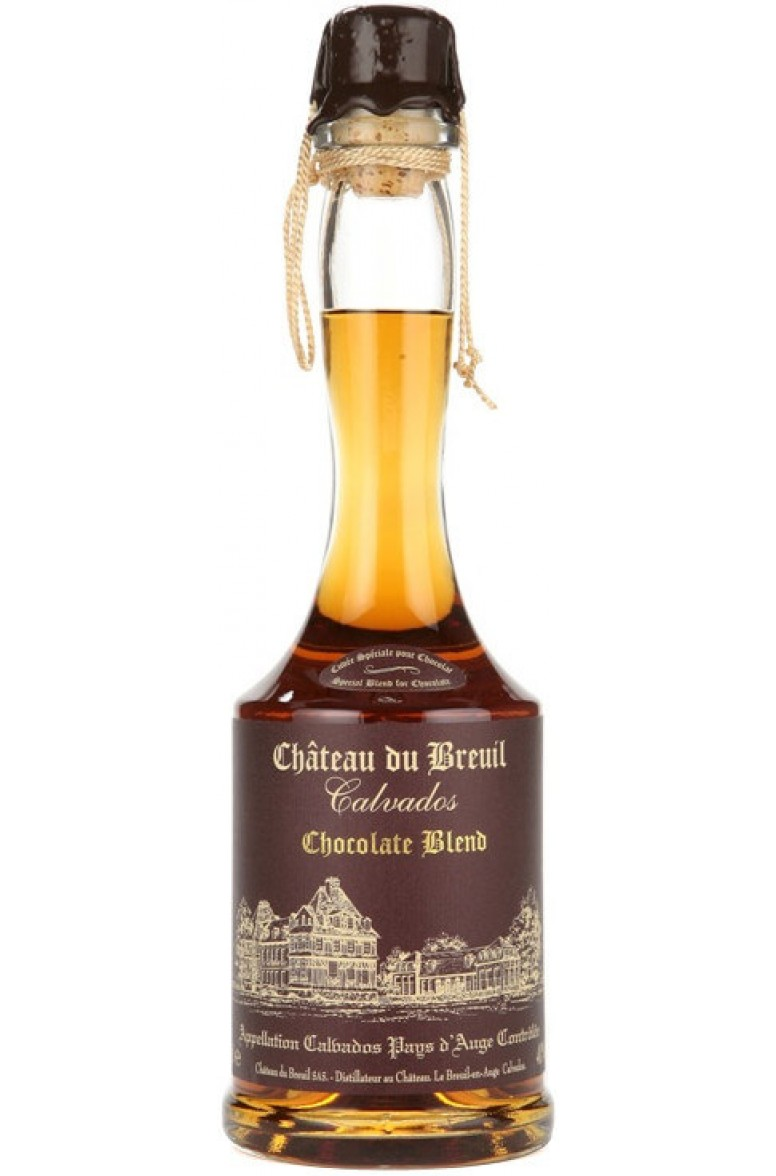 Calvados Chateau de Breuil Chocolate Blend
