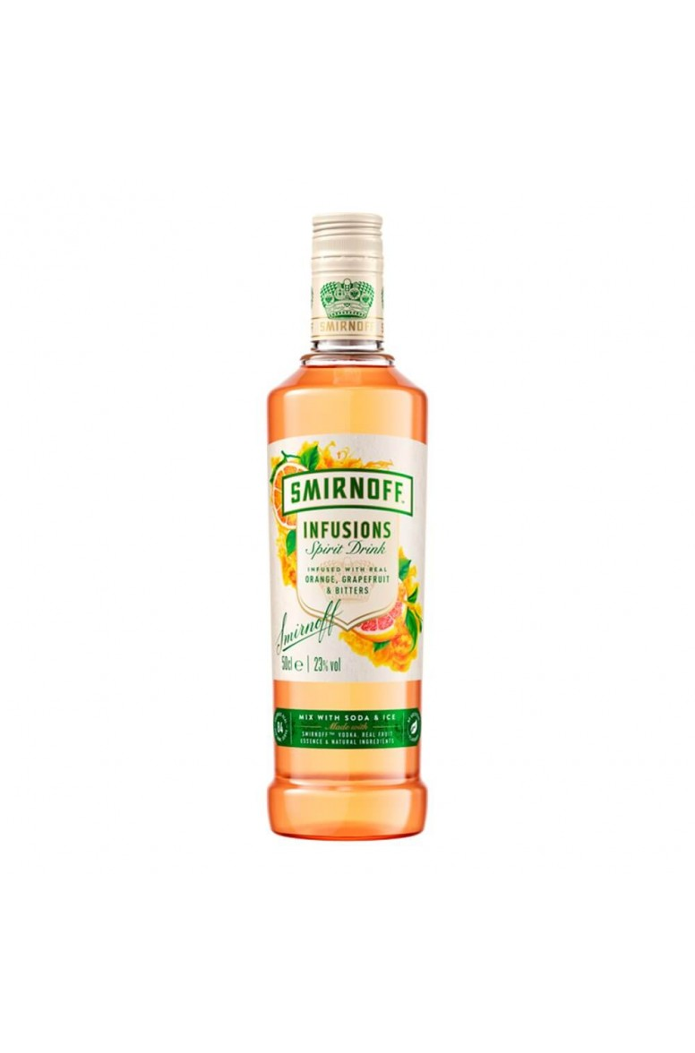 Smirnoff Infusions Orange Grapefruit & Bitters