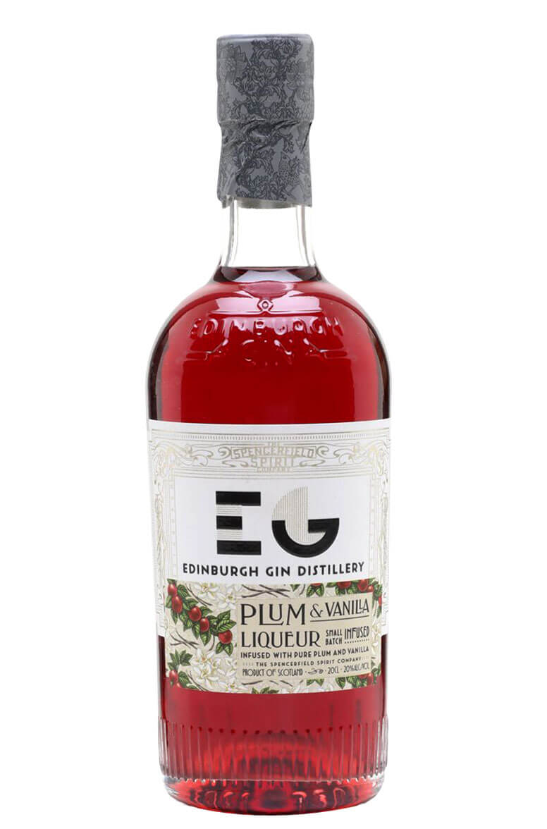 Edinburgh Plum and Vanilla Gin Liqueur