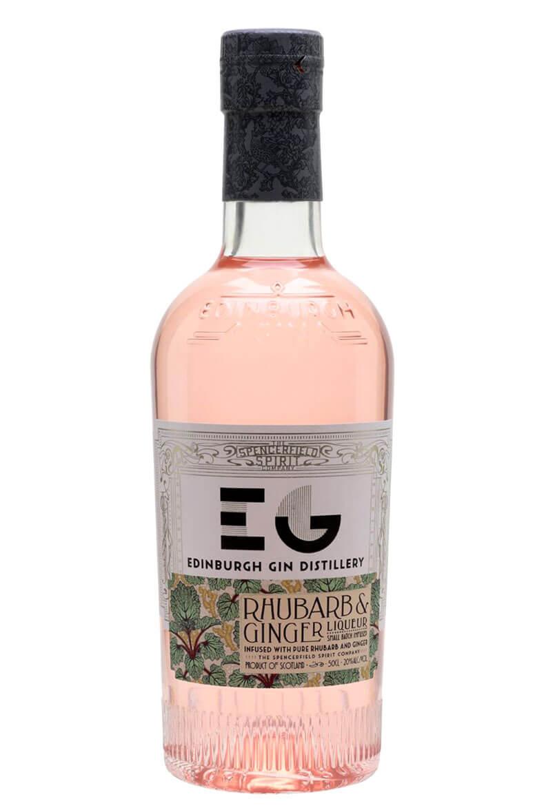 Edinburgh Rhubarb and Ginger Gin Liqueur