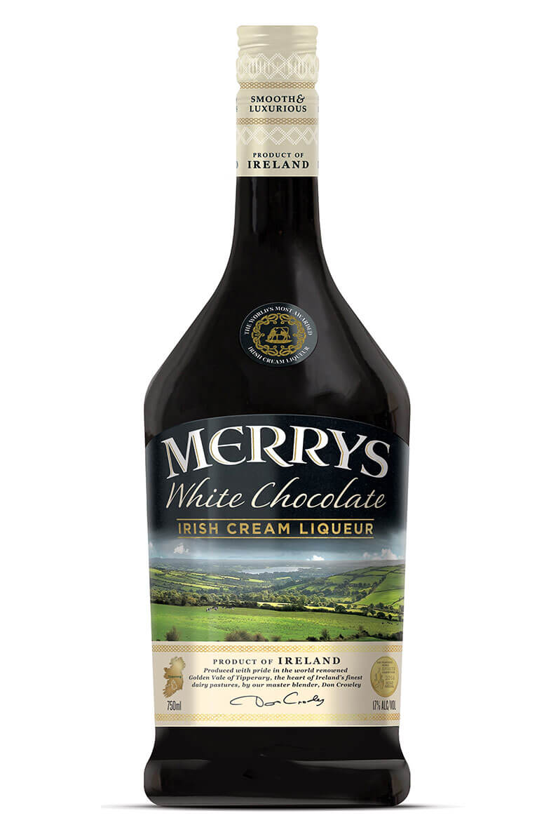Merrys White Chocolate Cream Liqueur