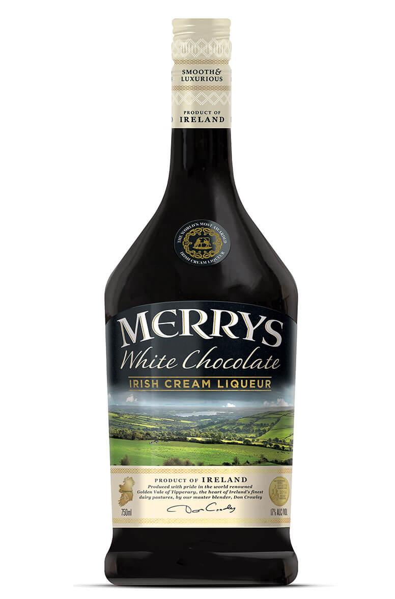 Merrys White Chocolate Cream Liqueur