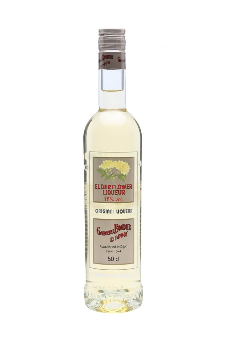 Elderflower Liqueur Gabriel Boudier 50cl