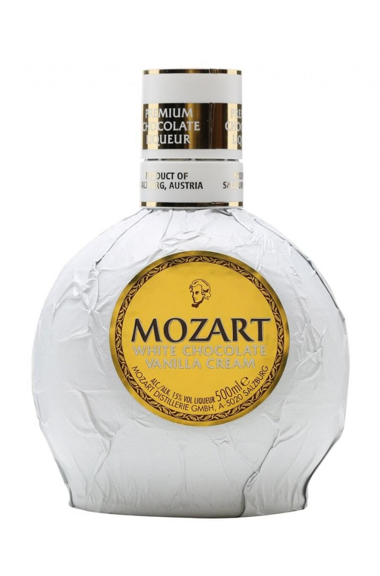 Mozart White Chocolate Liqueur 50cl