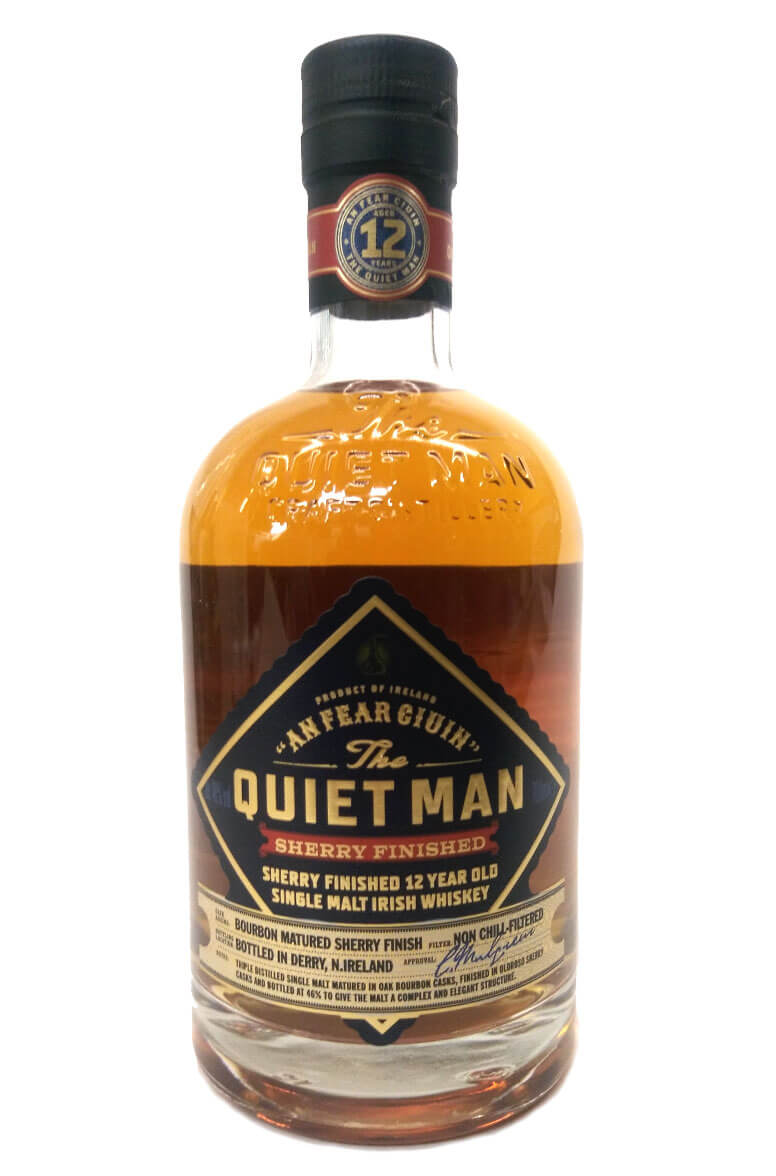The Quiet Man 12 Year Old Oloroso Cask