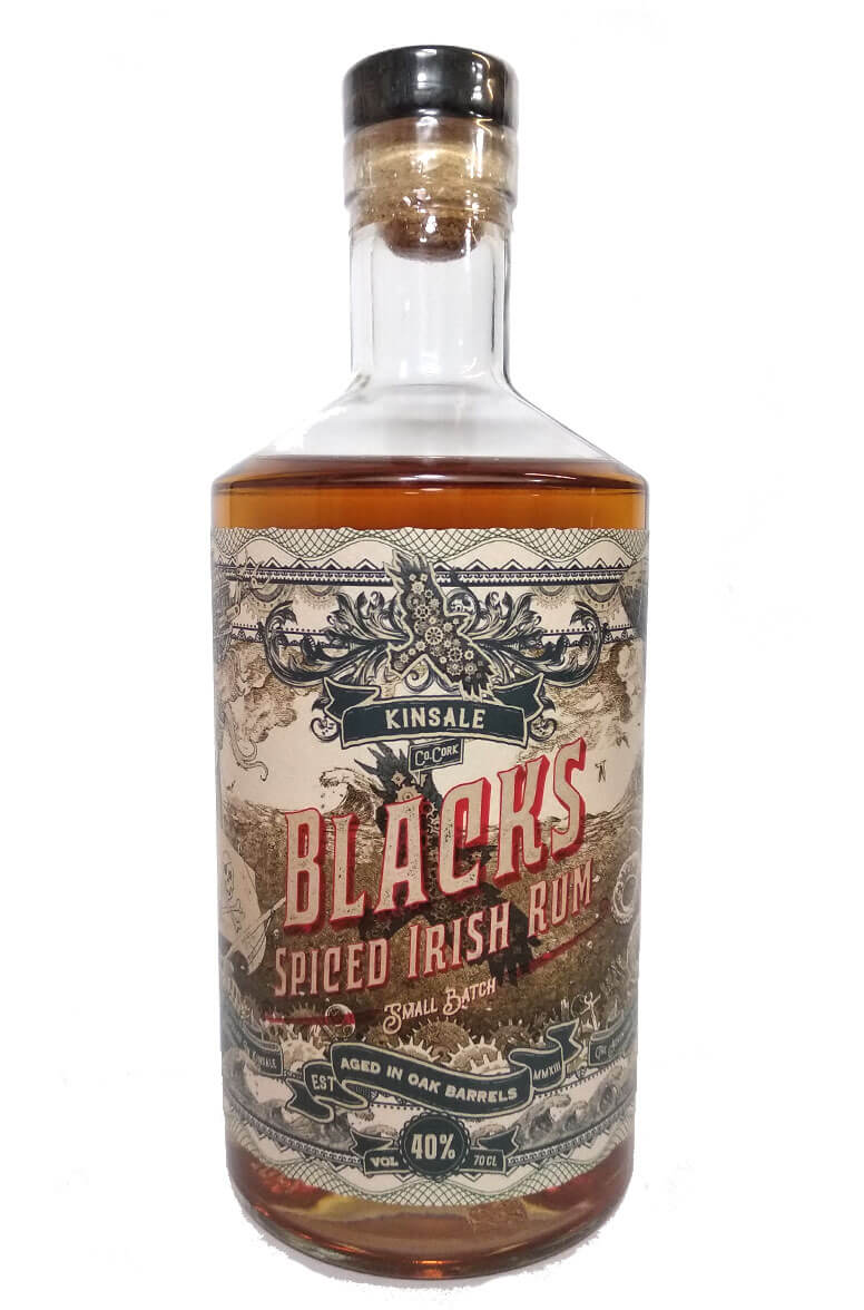 Blacks of Kinsale Spiced Irish Rum