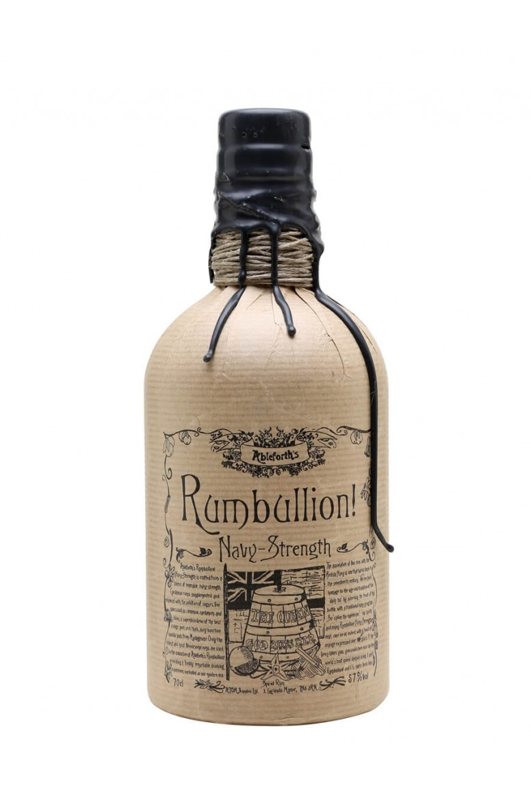 Rumbullion Navy Strength Rum