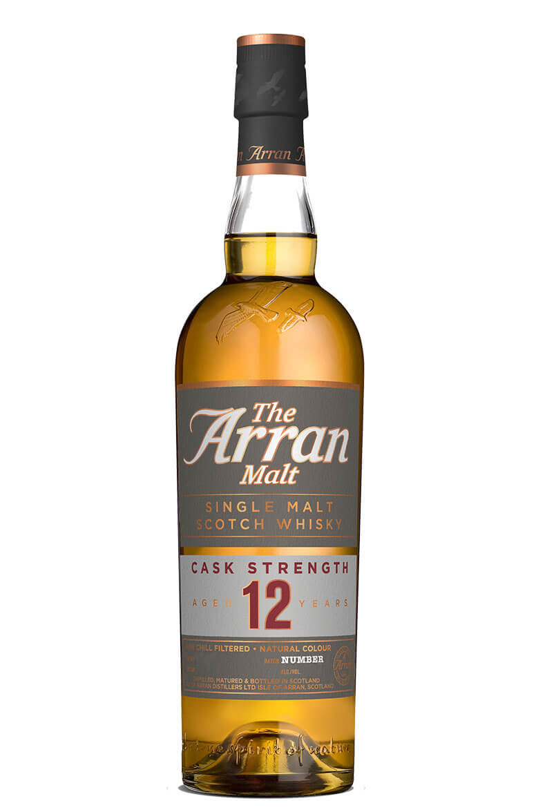 Arran 12 Year Old Cask Strength 52.4%