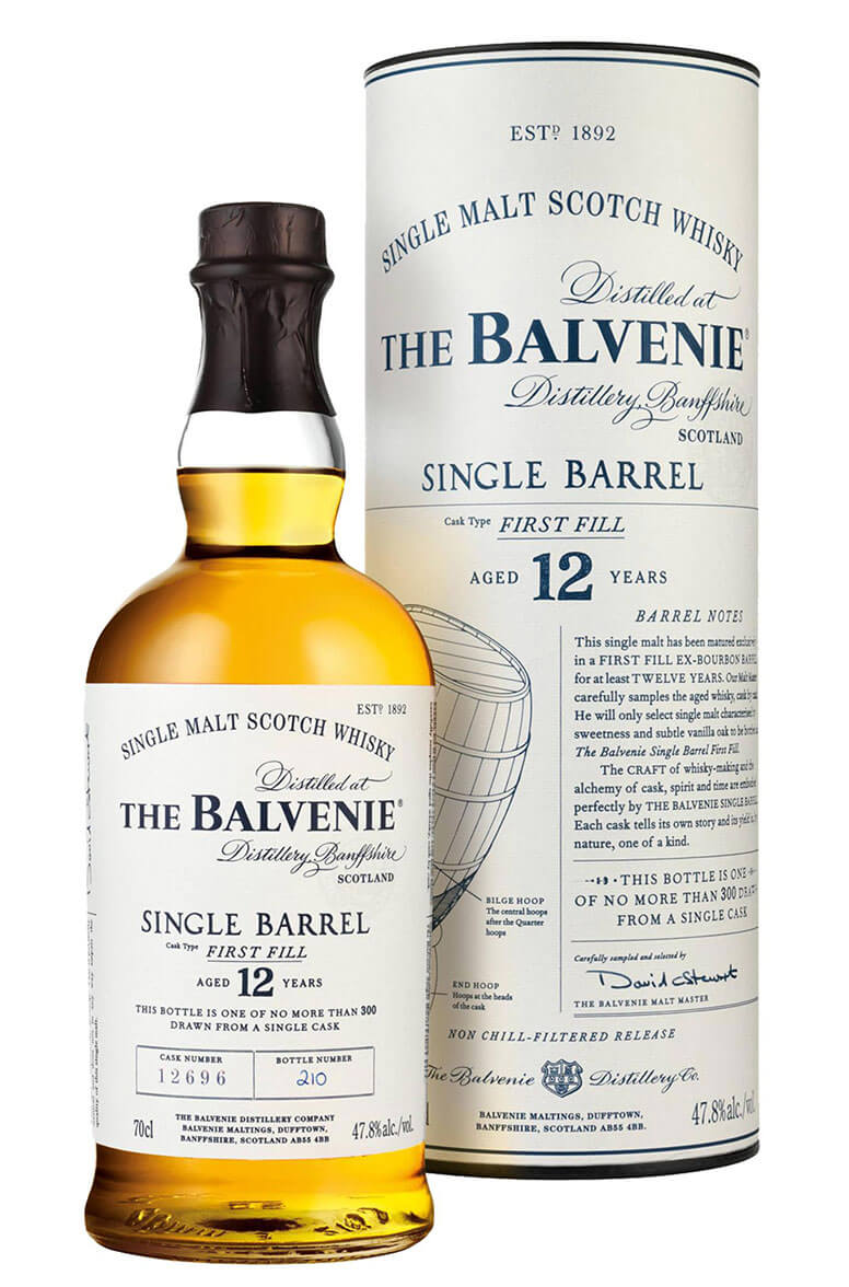 Balvenie First Fill Single Barrel 12 Year Old