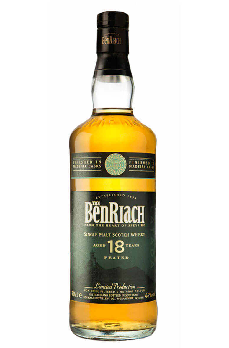 Benriach 18 Year Old Latada Madeira Finish