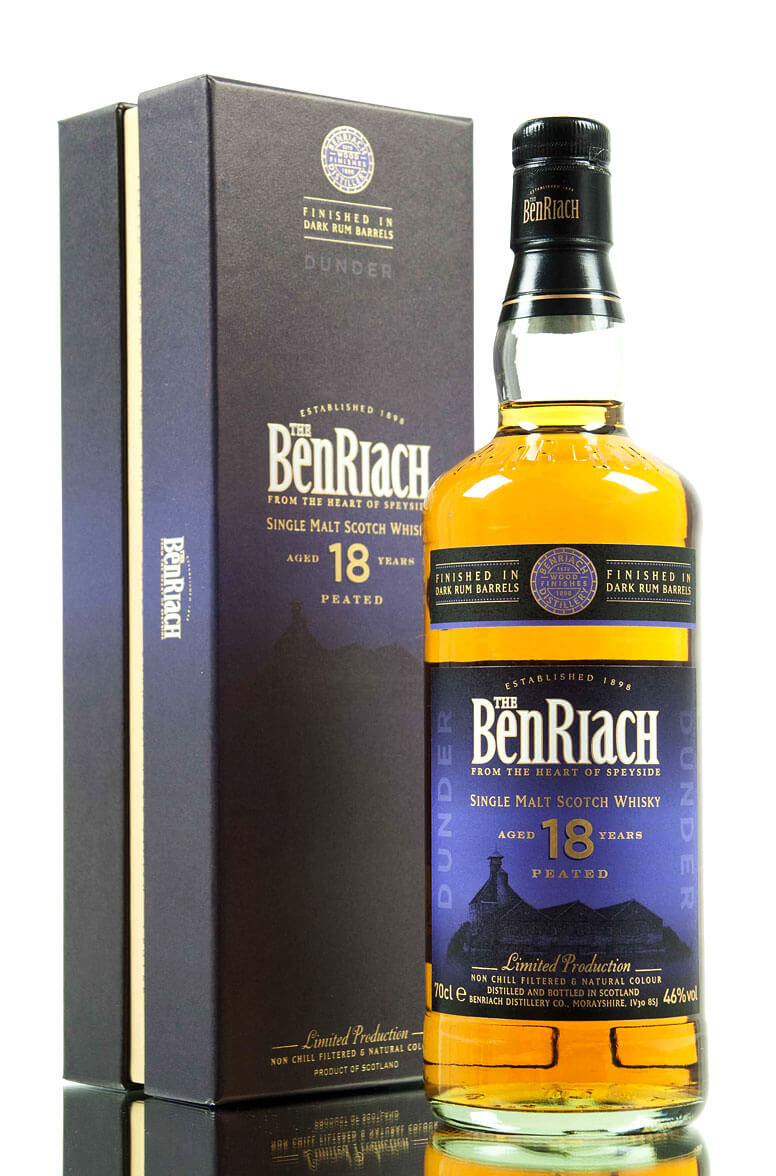 Benriach 18 Year Old Dark Rum Dunder