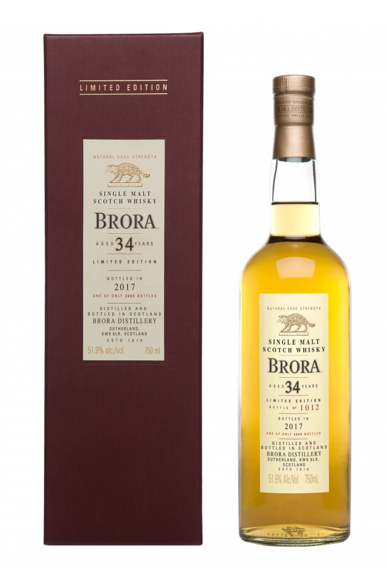 Brora 34 Year Old - Diageo Special Releases 2017