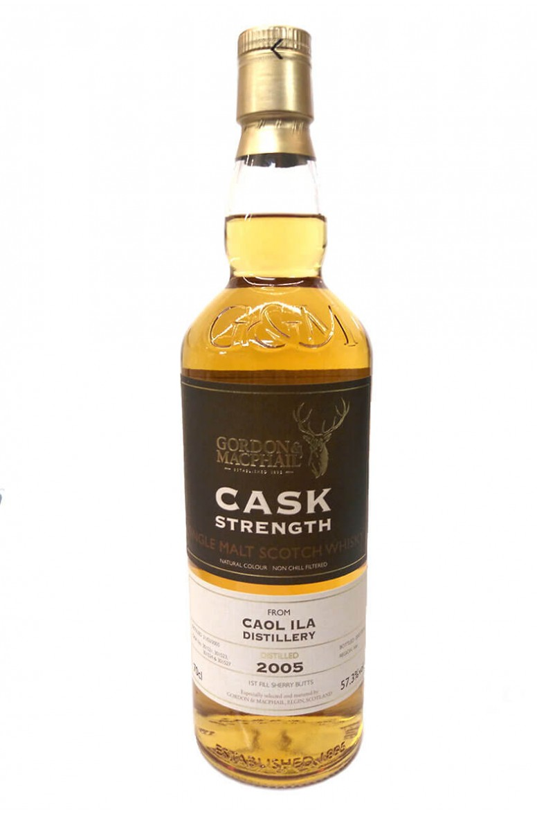 Caol Ila 2005 Cask Strength Gordon and Macphail