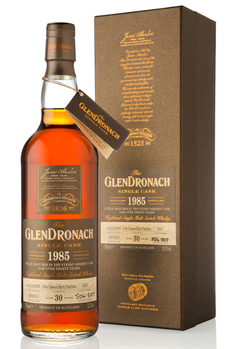 Glendronach 1985 30 Year Old Single Cask 1037 52.3%