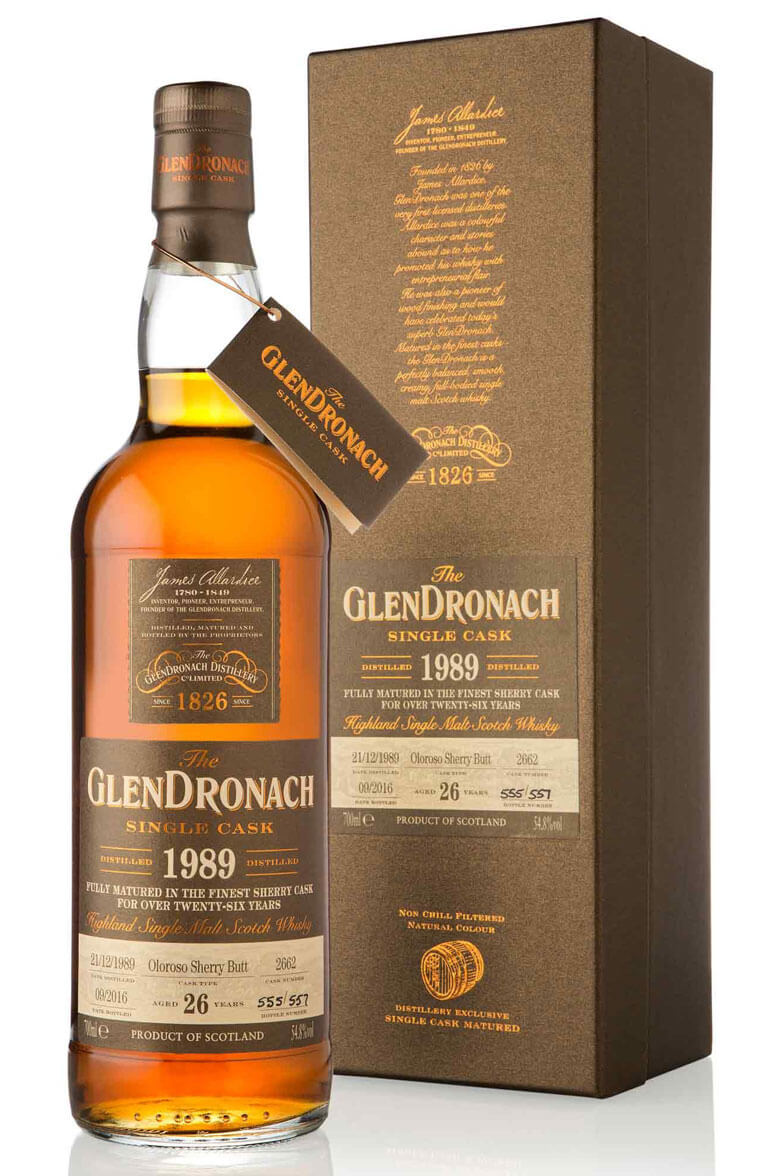Glendronach 1989 26 Year Old Single Cask 2662 Batch 14