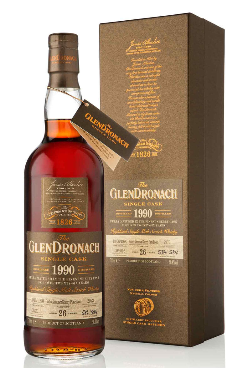 Glendronach 1990 26 Year Old #2973 Batch 14