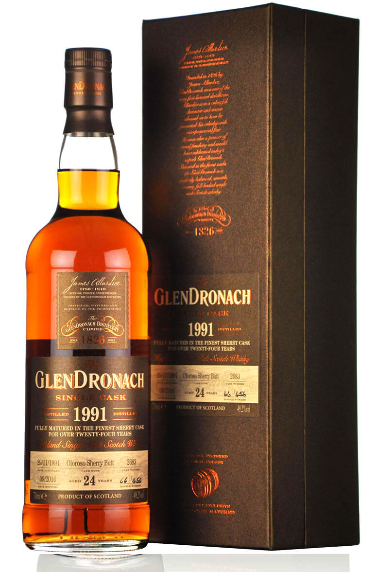 Glendronach 1991 24 Year Old  #2683 Batch 14
