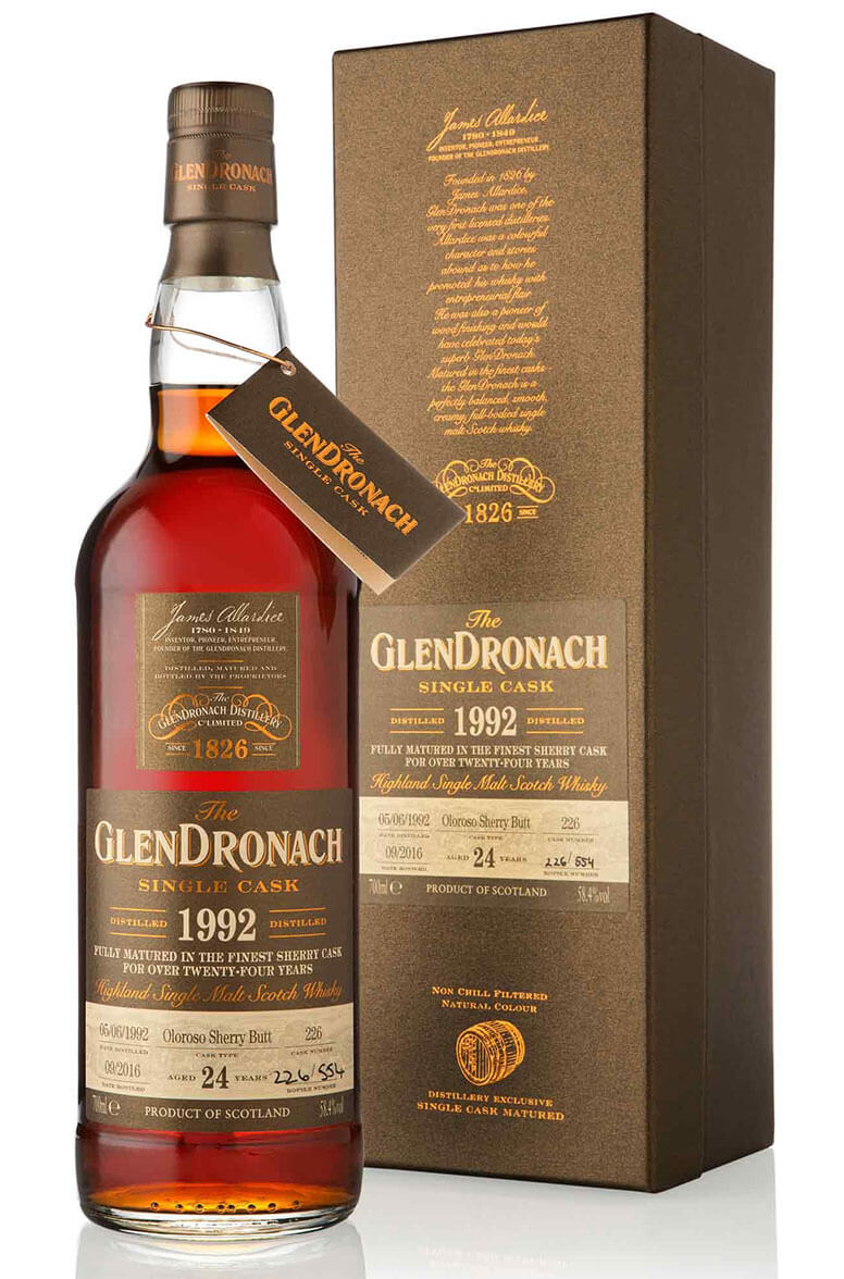Glendronach 1992 24 Year Old  #226 Batch 14