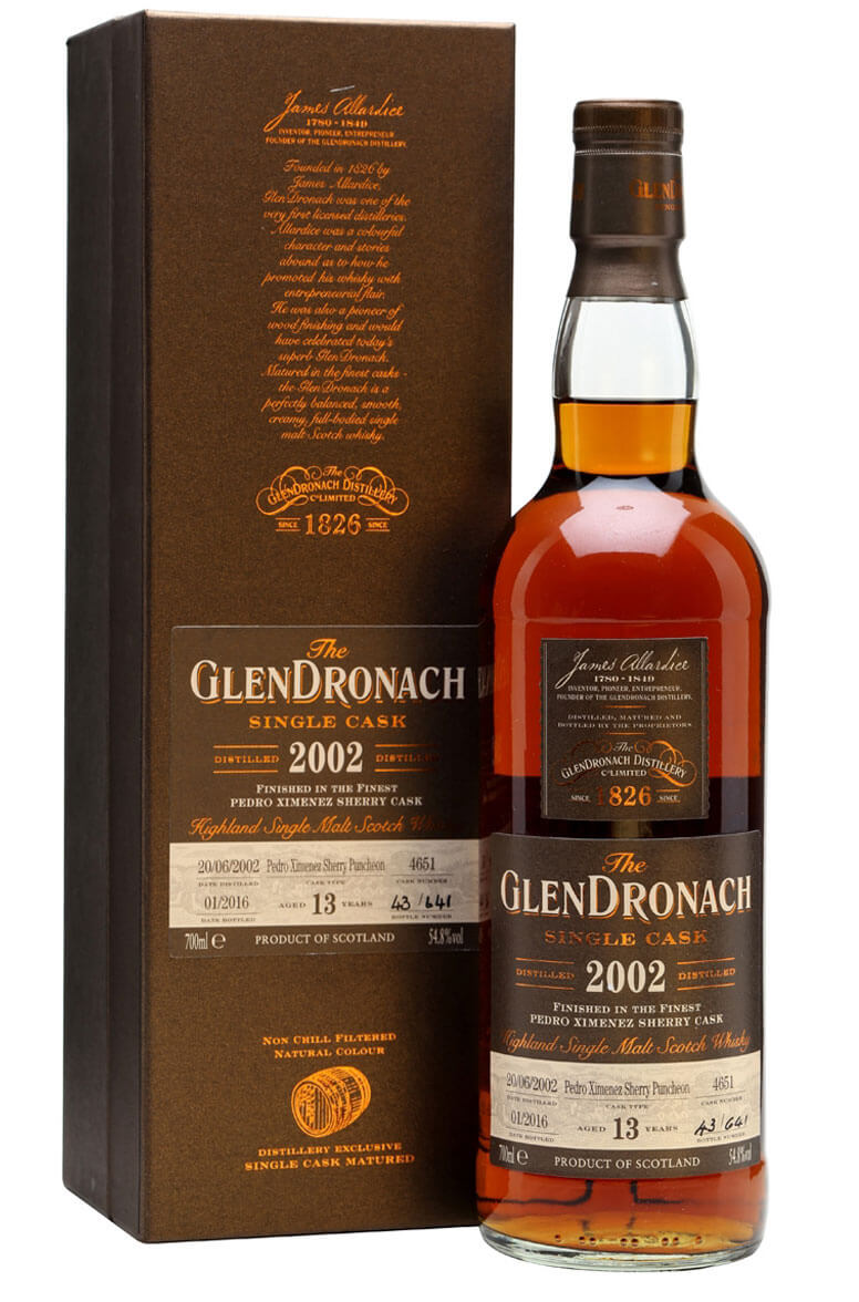 Glendronach 2002 13 Year Old Cask 4651