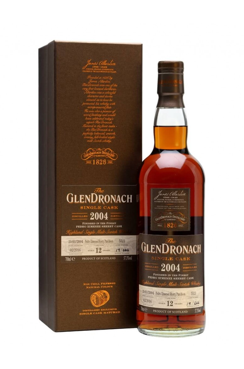 Glendronach 2004 12 Year Old Cask 5521