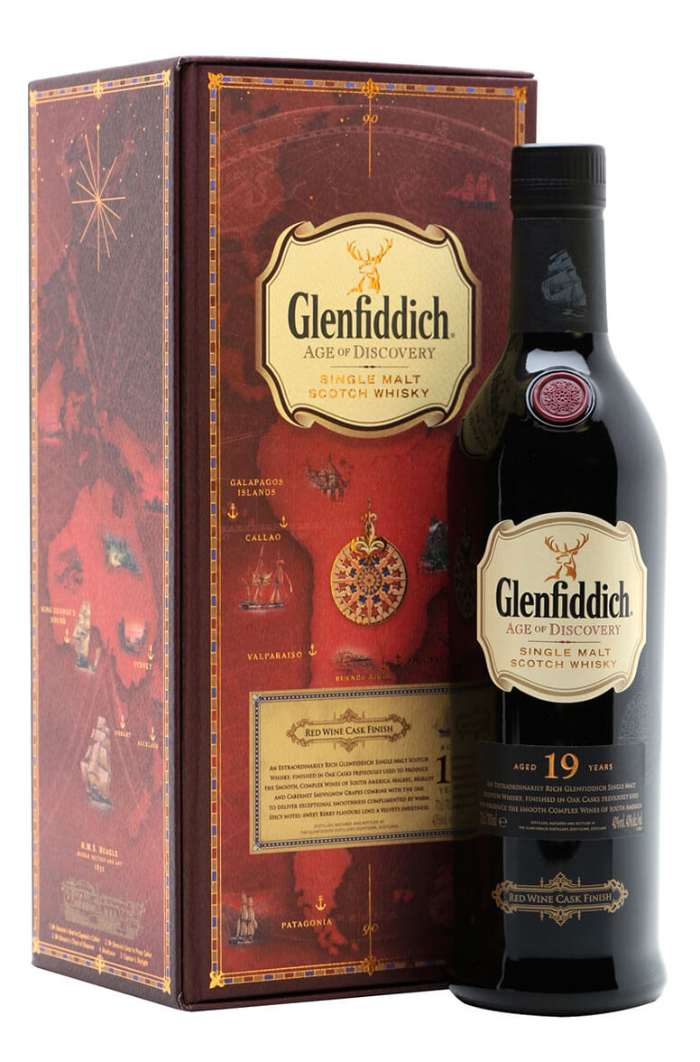 Glenfiddich Age of Discovery 19 Year Old Red Wine Cask