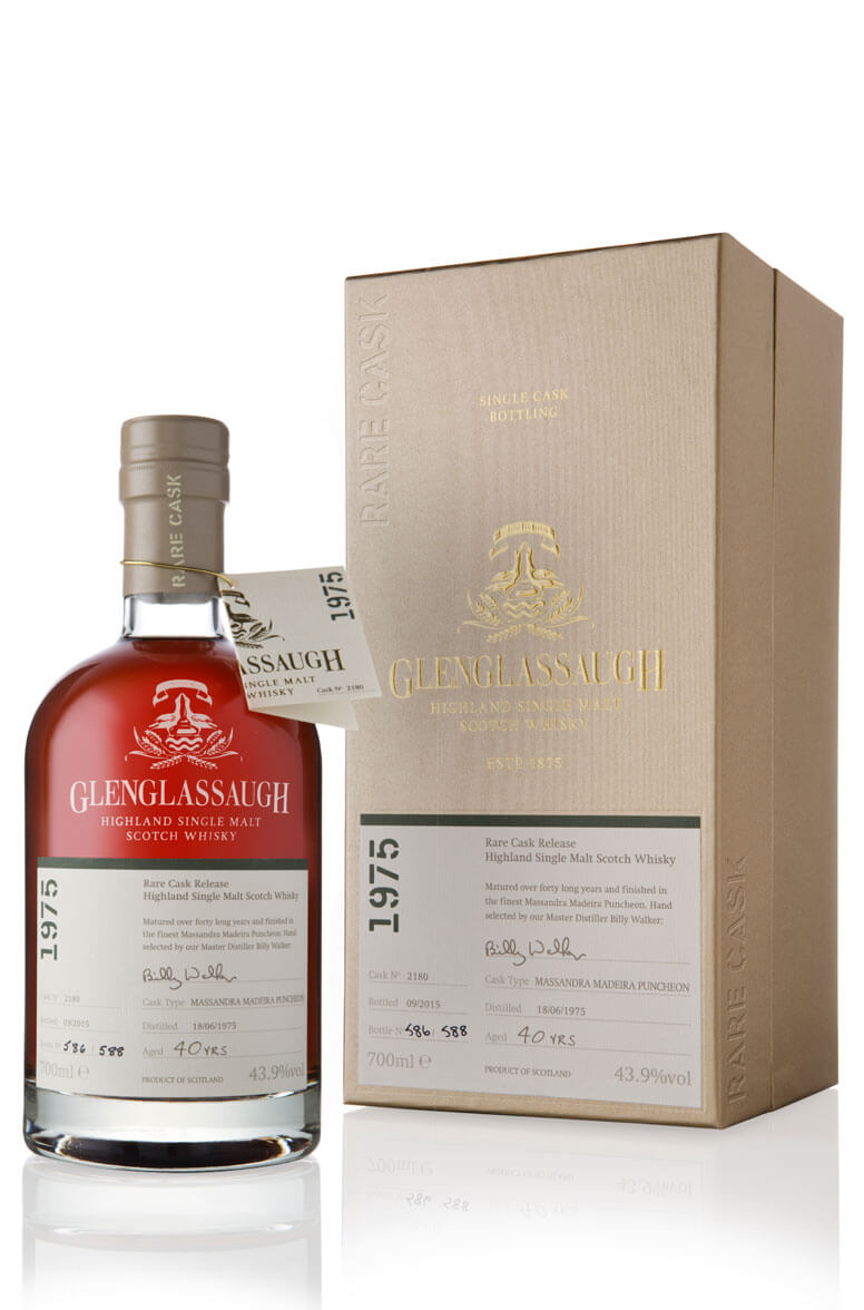 Glenglassaugh 1975 40 Year Old Cask 2180