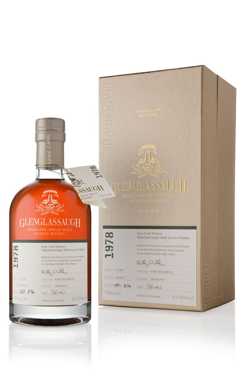 Glenglassaugh 1978 36 Year Old Cask 1118/8