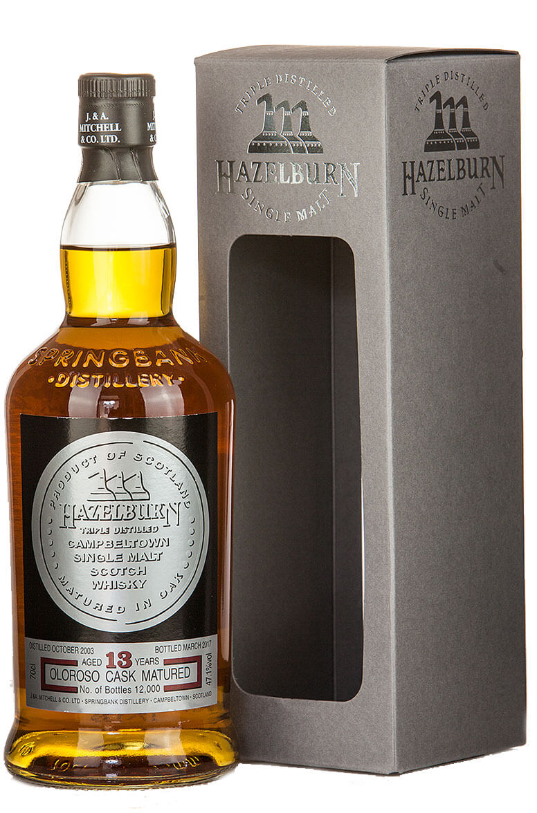 Hazelburn 13 Year Old Oloroso Matured