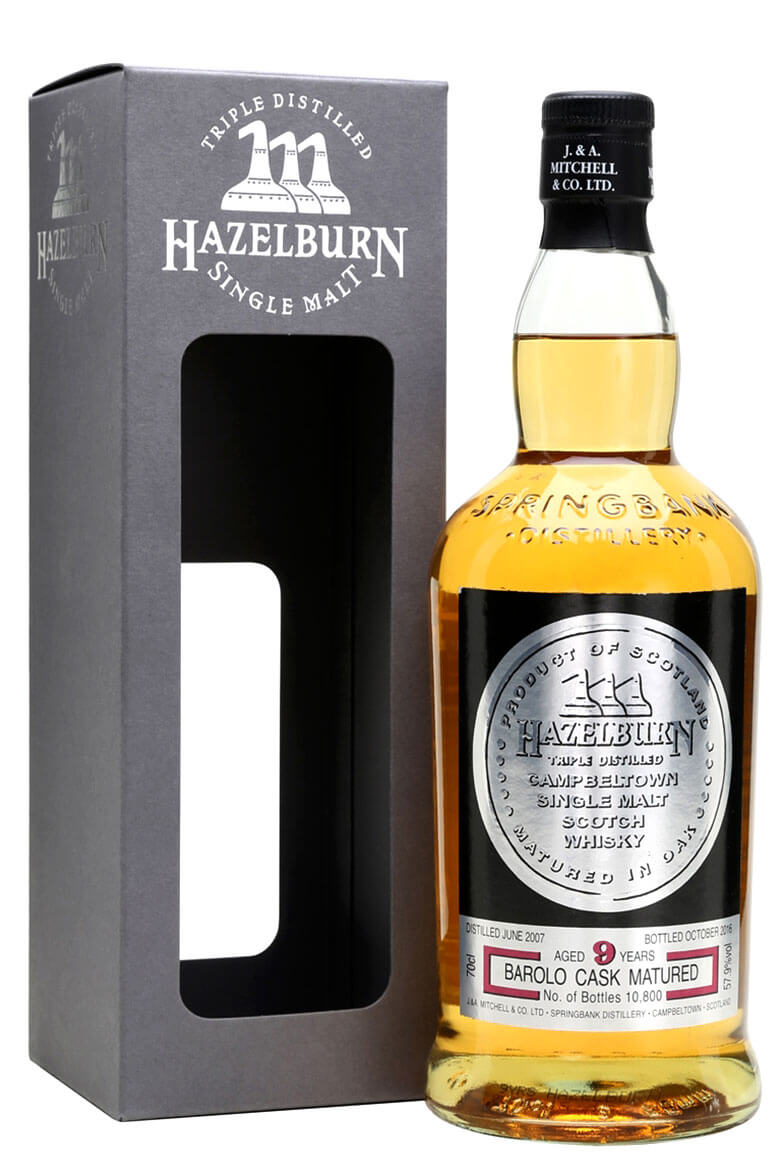 Hazelburn 9 Year Old Barolo Finish