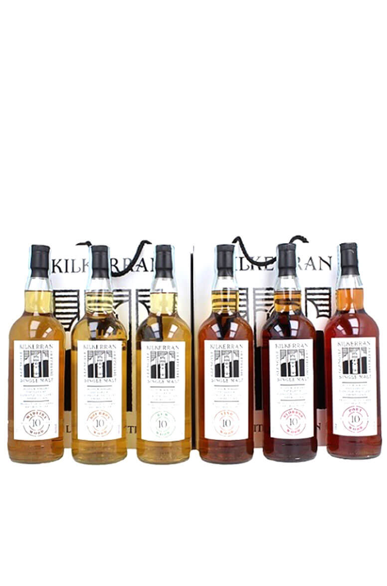 Kilkerran 10 Year Old 6 Bottle Set