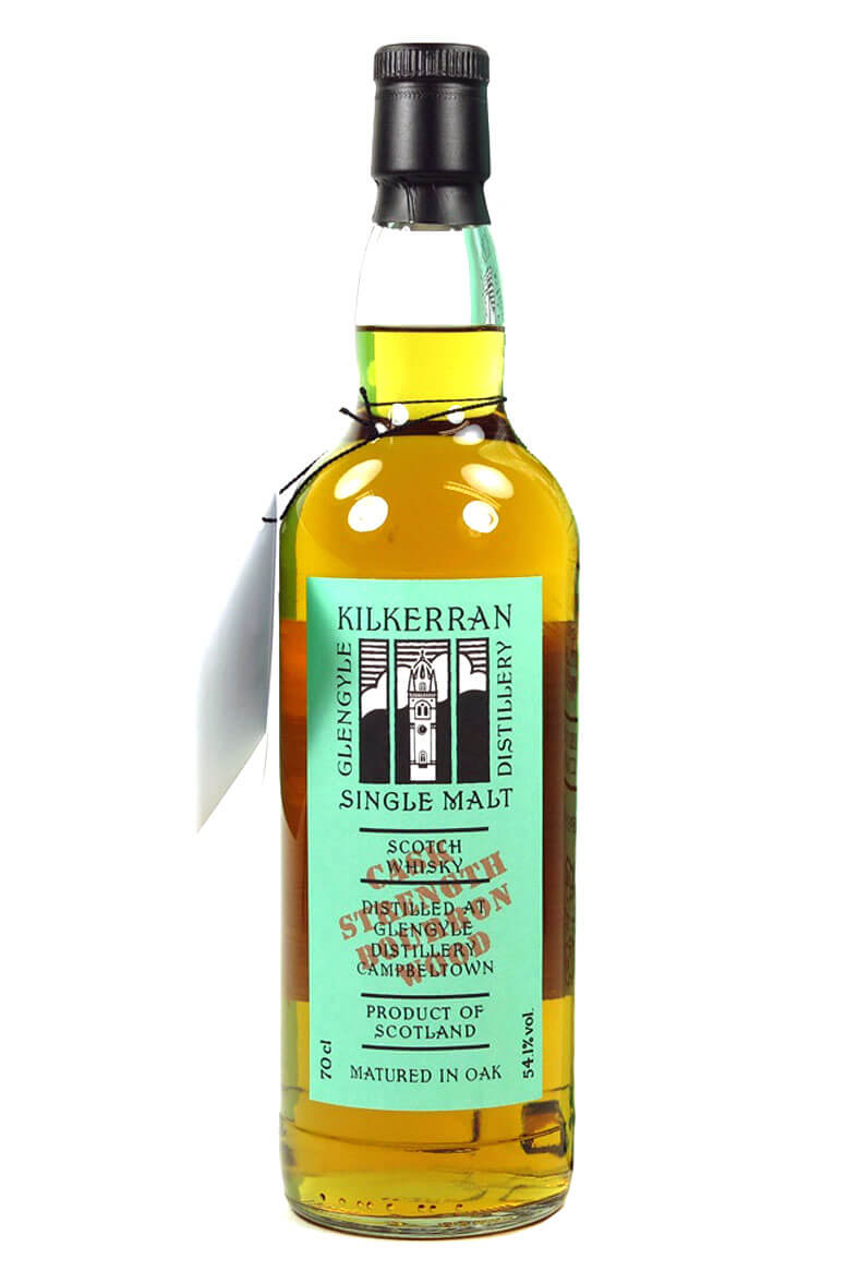 Kilkerran Cask Strength Bourbon Wood