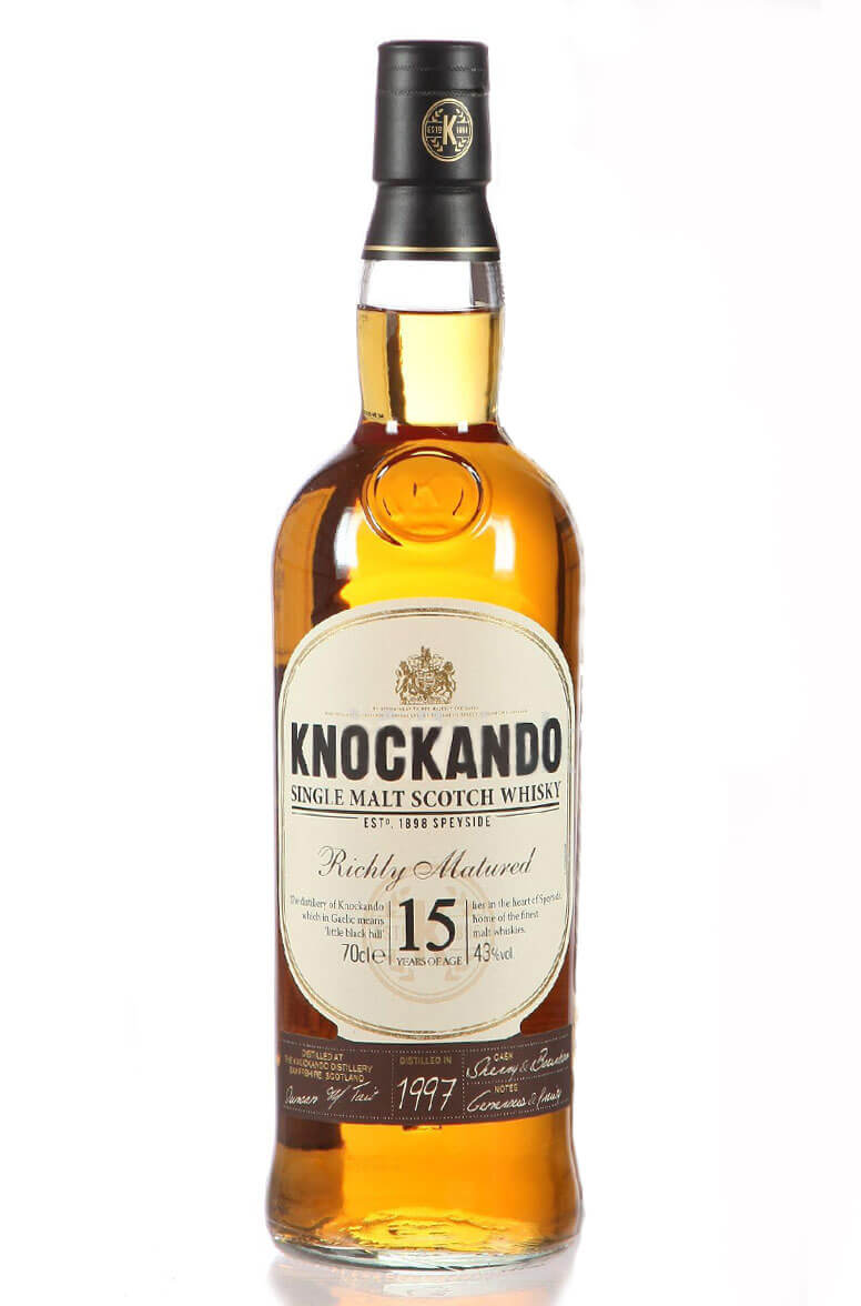 Knockando 15 Year Old 1997 Richly Matured