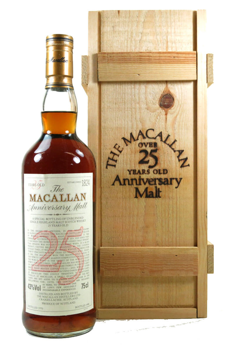 Macallan 25 Year Old 1970