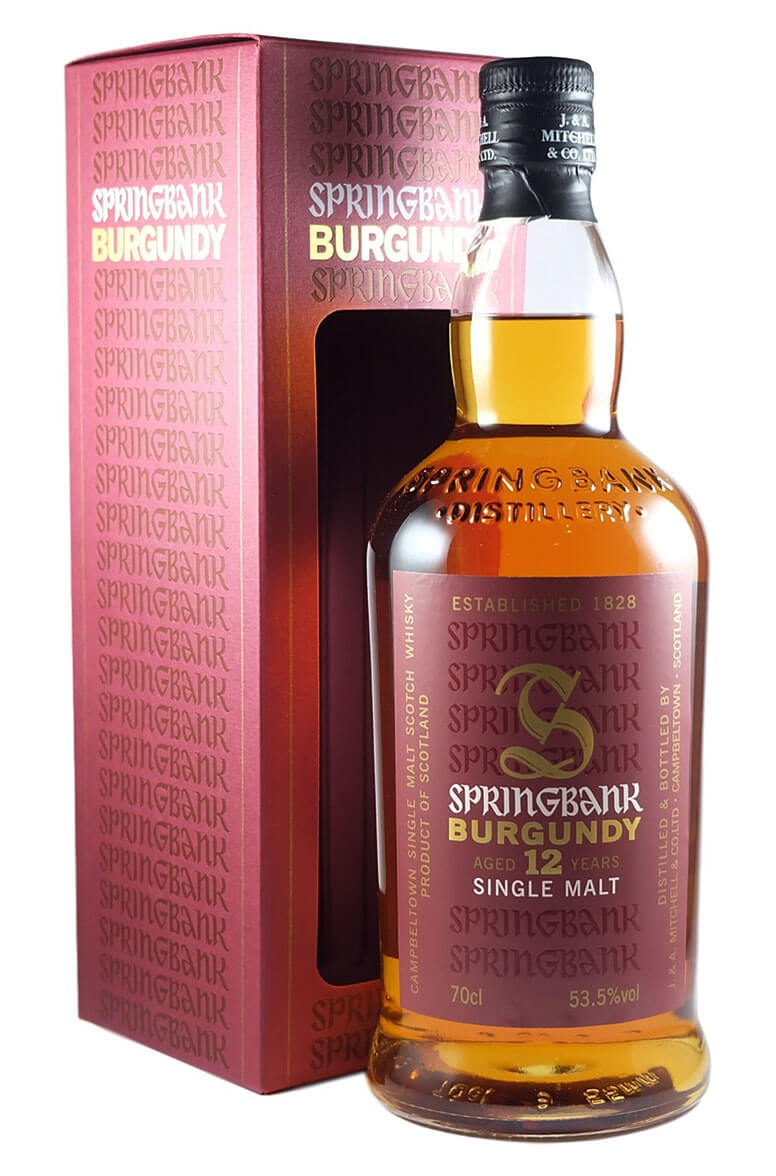 Springbank 12 Year Old Burgundy